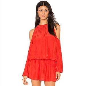 Ramy Brook Lauren Dress in Spring Red